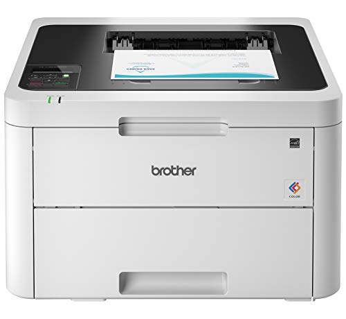 (Brother HL-L3230CDW Compact Digital Color Printer Providing Laser Printer Quality Results with Wireless Printing and Duplex Printing, Amazon Dash Replenishment Enabled)