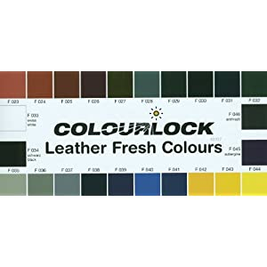 Colourlock Fluid Leather filler 0.23fl oz/7ml for filling or repairing small holes, tears, deeper scratches & cracks on leather car seats, furniture and other leather items (F002 - Ivory)