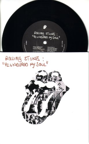 Plundered My Soul / All Down the Line, Limited Edition All Wood And Stones