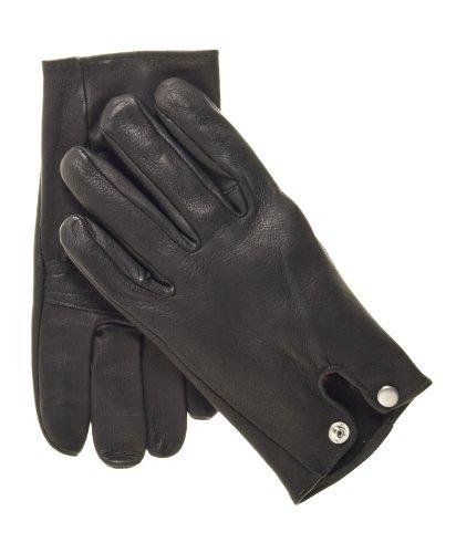 Geier Glove Men's Deerskin Roper Gloves Size 8 Color Black -