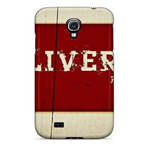 Fashion Protective Sports Soccer Liverpool Fc Case Cover For Galaxy S4