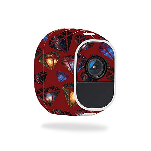 MightySkins Skin for Netgear Arlo Pro 2 - Diamond Galaxy | Protective, Durable, and Unique Vinyl Decal wrap Cover | Easy to Apply, Remove, and Change Styles | Made in The USA