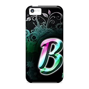 Browncases Fashionable DJGQ-657-CZ B Rainbow Case Cover Skin For Iphone 5c
