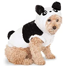 Rubie's Costume Co Panda Hoodie Pet Costume, XX-Large