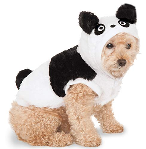 Panda Hoodie for Pet, Small