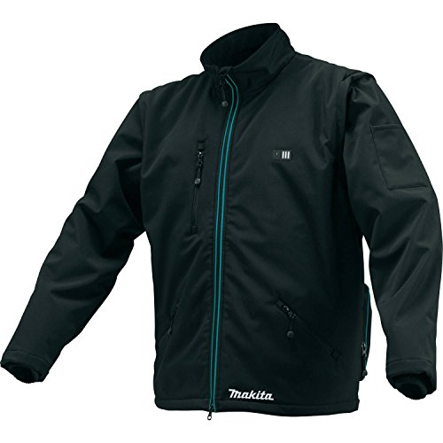 Makita CJ102DZS 12V Max CXT Lithium-Ion Cordless Heated Jacket, Only (Black, Small),