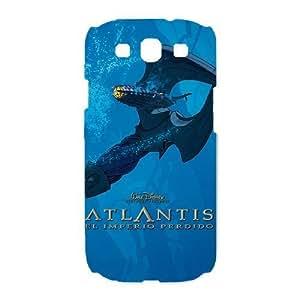 Samsung Galaxy S3 I9300 Phone Case White Atlantis The Lost Empire CXF340383