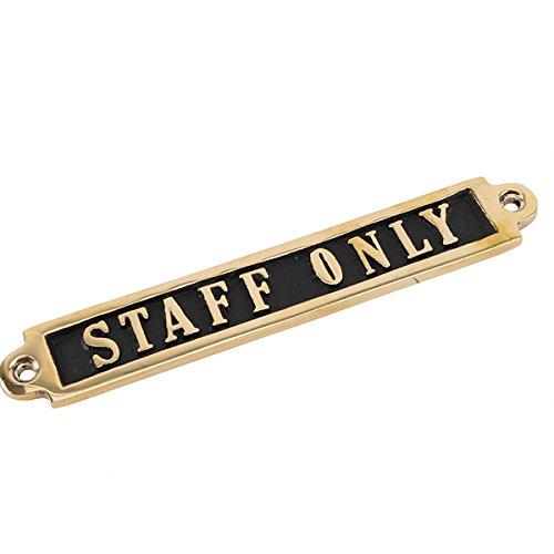 Placa de puerta - Solo Personal Cartel para puerta, diseño ...