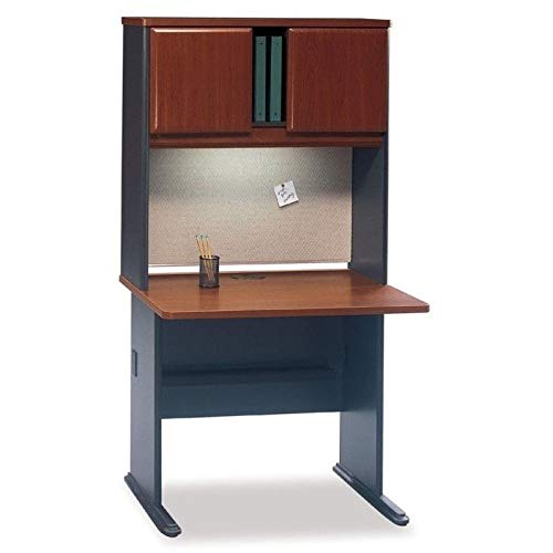 Bush Business Series A Office Cubicle in Hansen Cherry by Bbf