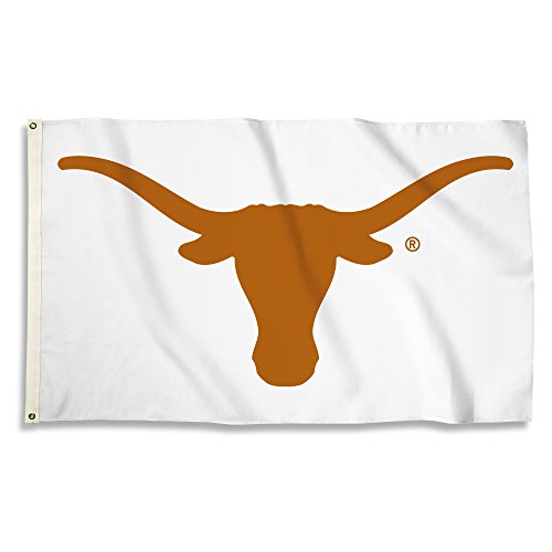 NCAA Texas Longhorns Flag with Grommets, 3' x 5', Team Color