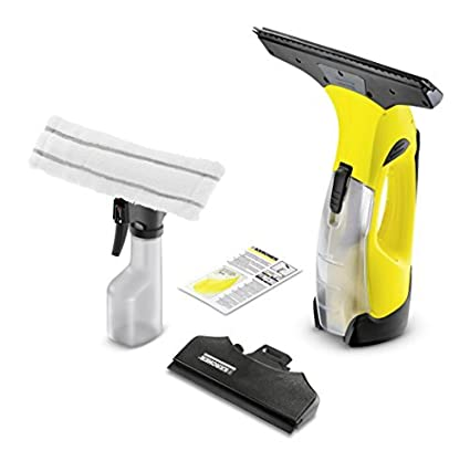 Kä rcher Window Vac WV5 Premium incl. Accessories, Window cleaner for Windows, Tiles, Shower & Cabinets and Exchangeable Battery Karcher