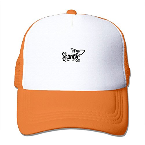 Sperm Whale Tooth - ZXM Caps Shark Teeth Summer Printed Adjustable Stylish Personalized Casual Mesh Hats