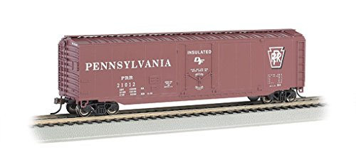 - Bachmann 18014 HO Scale 50' Plug Door Box Car Pennsylvania Railroad PRR