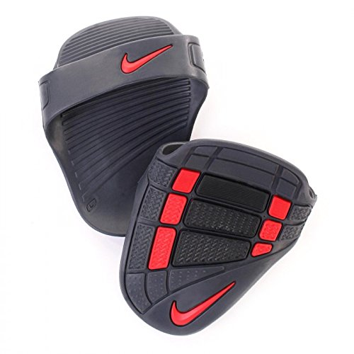 Nike Alpha Training Grips, Small (Black/Dark Charcoal/Total Crimson)