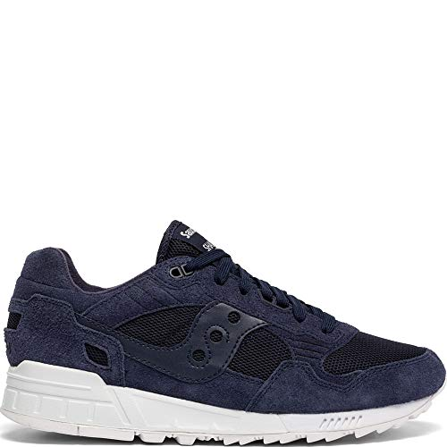 Saucony Originals Men's Shadow 5000 Sneaker, Navy/White, 9 M US