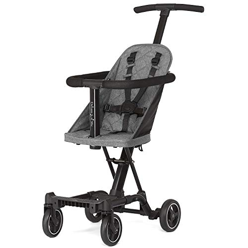 Dream On Me Universal Coast Rider & Stroller in Gray