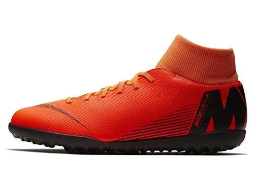 Adulto Club Nike Tf 6 total Deporte Zapatillas Black Multicolor Superflyx 810 De t Unisex Orange qRRagB8nx