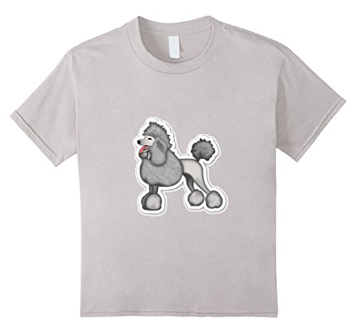 [Kids Dog Lover Person T-Shirt Chihuahua Puppy Doggy Cute Shirt 12 Silver] (Maltese Dog Costumes)
