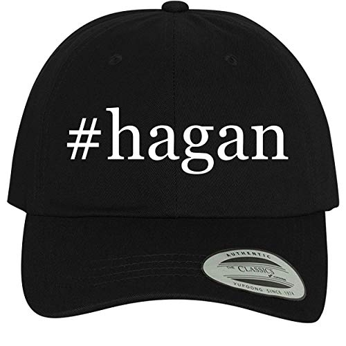 (BH Cool Designs #Hagan - Comfortable Dad Hat Baseball Cap, Black)