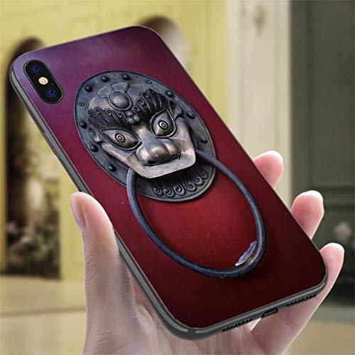 (iPhone 7/8 Color casePAncient Knockers Resistance to Falling, Non-Slip,Soft,Convenient Protective Case)