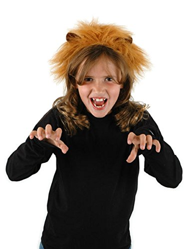 Lion Ears Headband and Tail Kit by elope - Girls Lion Kit