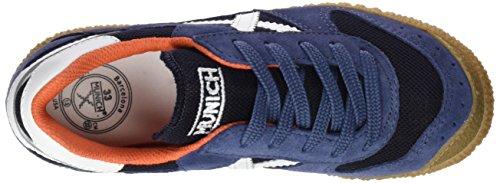 Munich Mini, Zapatillas Unisex Niños Azul (Blue)