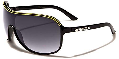 DG Eyewear Oversized Aviator Sunglasses