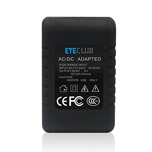 Eyeclub Wireless Hidden Security Camera Discreet HD 1080P Spy Cam Adapter Live Video Streaming Surface Polishing...
