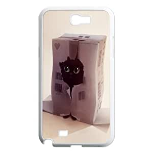 Samsung Galaxy Note 2 Cases Funny Undercover Agent, Vety, [White]