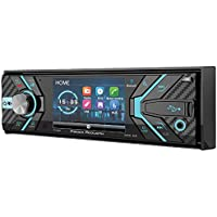 Power Acoustik PD-348B In-Dash 1-DIN 3.4 LCD DVD Receiver with Bluetooth 4.0