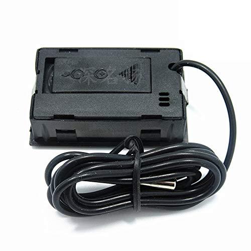 ClookYuan Termómetro Digital LCD con congelador de batería Mini ...