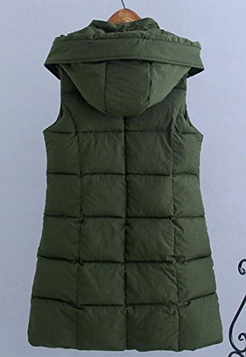 1 Vest Outwear UK Sleeveless Hooded Warm Womens Down Jacket Thicken Sale Puffer Hot 7xqSnP6n