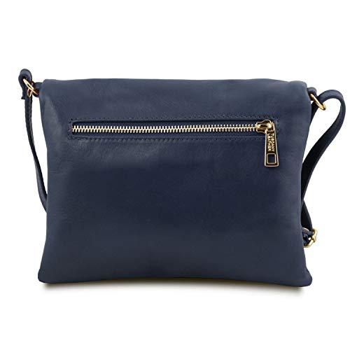 Borsa Bag Tuscany Blu Tracolla Young Con Tl Scuro Nappa Leather A doerCxB