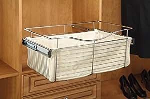 rev a shelf 18 x 14 x 18 cloth liner tan lazy susans. Black Bedroom Furniture Sets. Home Design Ideas