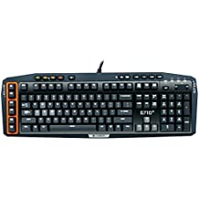 Logitech G710+ Mechanical Gaming Keyboard with Tactile High-Speed Keys, Orange/Black (Certified Refurbished)