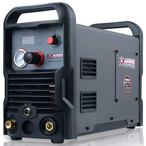 50 Amp Plasma Cutter Colossal Tech. 3/4 in. Clean Cut 110/230V Compatible DC Inverter Cutting Machine