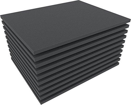 Feldherr FS010B 10 pcs. Set 10 mm (0,4 Inch) Figure Foam Tray Full-Size Bottom / Topper -