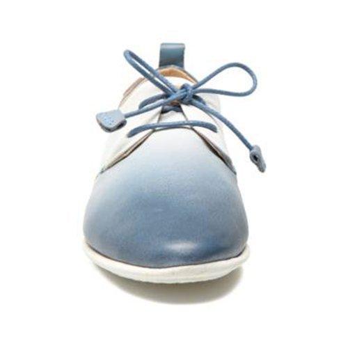 dg7123 917 Stringate kombi Scarpe Blau Blau Donna Denim paBXAqA