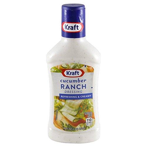 Kraft Cucumber Ranch, 16-Ounce Bottles (Pack of 6)