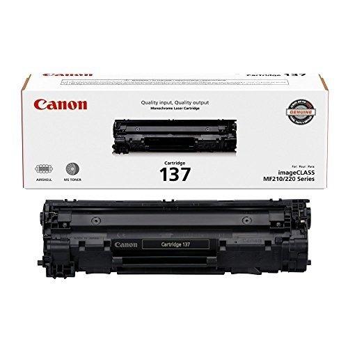Canon Original 137 Toner Cartridge - Black