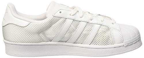 adidas Superstar, Zapatillas de Estar por Casa para Hombre Blanco (Ftwr White/ftwr White/ftwr White)