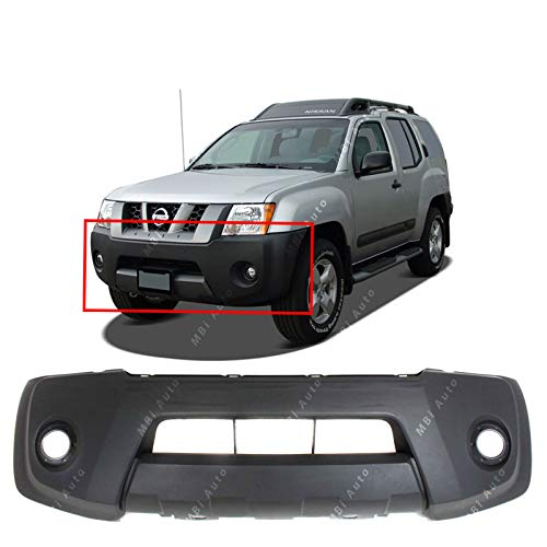 - MBI AUTO - Textured, Front Bumper Cover Fascia for 2005-2008 Nissan Xterra 05-08, NI1000243