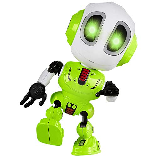 Tisy Fun Toys for 3-12 Year Old Boys, Talking Robot for Boys Toddlers Infant Kids Christmas Birthday Presents Gifts for 3-12 Year Old Boys Toy Age 3-12 Green TSUSTR01 -