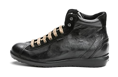 Donna 48p4 Storm Nero Frau Gomma Sneaker dC57nw