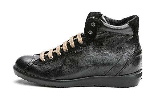 Frau Sneaker Donna Storm Nero 48p4 Gomma 1wf1Bzq