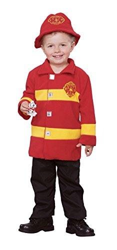 Brave Firefighter Toddler (Firefighter Jacket Costume)