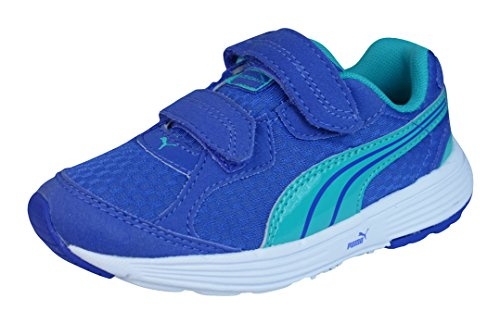 Puma Descendant V Kids Laufschuhe Blue