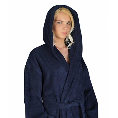 Arus Women s Classic Hooded Bathrobe Turkish Cotton Terry Cloth Robe  durable service 0a55257ae