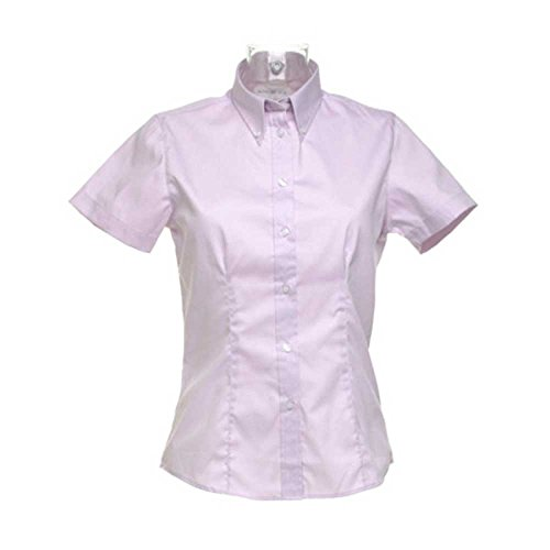 Kit Shirt Kustom Lilac Sleeve Ladies Oxford Short pFwdHqw