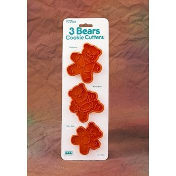 Three Bears Cookie Cutters Case Pack 96 Home Kitchen Furniture Decor